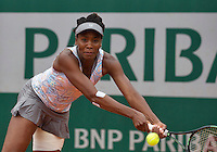 Paris, France, 29 June, 2016, Tennis, Roland Garros, Venus Williams (USA)<br /> Photo: Henk Koster/tennisimages.com