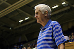 27 October 2013: Duke assistant coach Al Brown. The Duke University Blue Devils played their annual preseason Blue White women's college basketball game at Cameron Indoor Stadium in Durham, North Carolina.