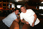 Michael O'Leary and Ron Raines at First Meet & Greet Welcome Aboard Party - Ebony Lounge - Day 1 July 31, 2010 - So Long Springfield at Sea - A Final Farewell To Guiding Light sets sail from NYC to St. John, New Brunwsick and Halifax, Nova Scotia from July 31 to August 5, 2010  aboard Carnival's Glory (Photos by Sue Coflin/Max Photos)