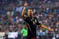 CHARLOTTE, NC. 9 Junio 11. Foto de Javier Hernández, festejando su gol anotado durante el partido contra la Selección de Cuba, de la Fase de Grupos de Copa Oro 2011, celebrado en Bank of America Stadium. FOTO: STRAFFONIMAGES ***CRÉDITO OBLIGATORIO*** ***NO ARCHIVO-NO VENTAS*** ***SOLO USO EDITORIAL***