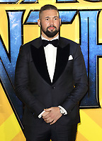 Tony Bellew at the Black Panther European Premiere at the Eventim Apollo, Hammersmith, London on Thursday 8th February 2018<br /> CAP/ROS<br /> CAP/ROS<br /> &copy;ROS/Capital Pictures