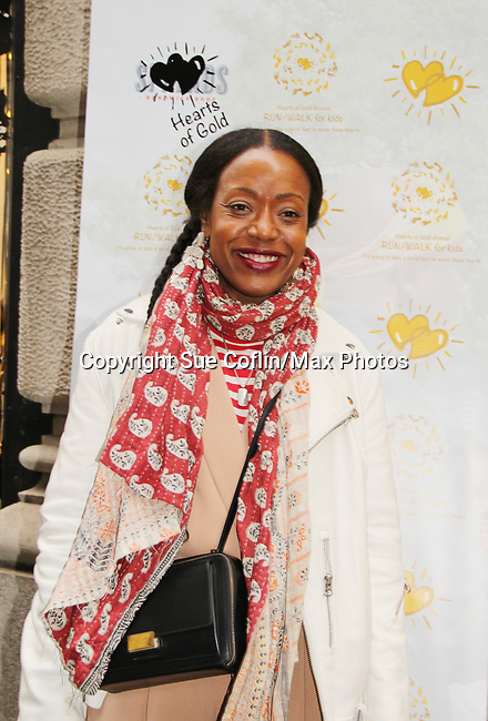Tracy Reese - designer - celebrating 30 years of style and twenty-five years of giving back through Hearts of Gold at a black carpet salon style spring/summer fashion show and cocktail reception on May 9, 2019 at Blanc et Noir, New York City, New York.(Photo by Sue Coflin/Max Photos)