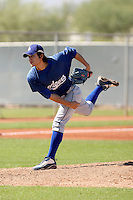 Ji-Mo Lee - Los Angeles Dodgers, 2009 Instructional League.Photo by:  Bill Mitchell/Four Seam Images..