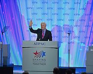March 3, 2013  (Washington, DC)  U.S. Senator John Cornyn addresses the Sunday afternoon plenary session of the 2013 AIPAC Policy Conference.  (Photo by Don Baxter/Media Images International)