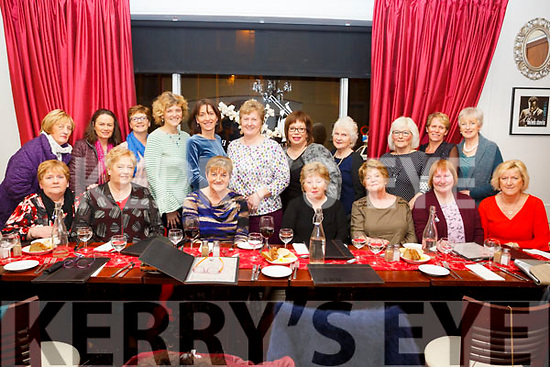 The Glow ladies having a night out in Cassidy's Restaurant of Friday night last,