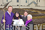 FANCY AN ALLOTTMENT: A public information evening will be held in XXXX , Tralee on Tuesday next to let people know about how they can get involved with the new allottment scheme at Tobar Naofa, Tralee. From l-r were: Cllr. AJ Spring, Caroline Toal, Joseph Carey and Angela Walsh.