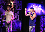 - The Boy Band Project - Travis Nesbitt & Bentley Black  performed on July 10, 2018 at The Iridium, New York City, New York - a benefit concert for Broadway Cares/Equity Fights Aids featuring the music of NSYNC, Backstreet Boys, Hanson, New Kids on the Block (Photo by Sue Coflin/Max Photos)