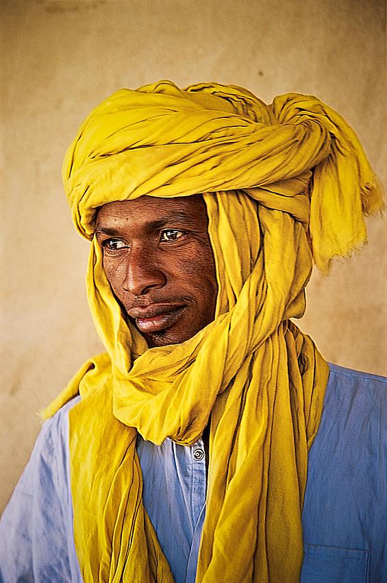 Tubu tribesman in Faya-Largeau, Chad.