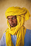Tubu tribesman in Faya-Largeau, Chad.
