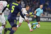 2nd November 2017, Nice, France; EUFA Europa League, Olympique Lyonnais versus Everton;  Memphis Depay (lyon) breaks towards goal