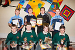 The Best<br /> ------------<br /> Students from Causeway comprehensive secondary school pictured after receiving their various awards were (seated) L-R Brian Styles,Darragh leahy,Lauren O'Shea and Jack Farrell (back) L-R Jordan Walsh,Phillip&amp;Josh Flaherty with Owen O'Sullivan