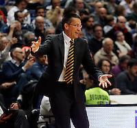 30/03/2014<br /> LIGA ENDESA<br /> JORNADA 25<br /> Real Madrid - Herbalife Gran Canaria<br /> PEDRO MARTINEZ Entrenador (Herbalife Gran Canaria)