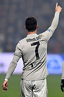 Cristiano Ronaldo of Juventus celebrates after scoring the goal of 0-2 <br /> Reggio Emilia 10-2-2019 Stadio Mapei, Football Serie A 2018/2019 Sassuolo - Juventus<br /> Foto Andrea Staccioli / Insidefoto