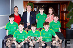 The Kerry Pitch and Putt team at the Kerry Sports awards in the Gleneagle Hotel on Friday night