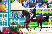 DEN-Anders Dahl rides Selten HW in the Grand Prix Special for the Equestrian Dressage. Rio 2016 Olympic Games, Centro Olímpico de Hipismo, Rio de Janeiro, Brazil. Friday 12 August. Copyright photo: Libby Law Photography