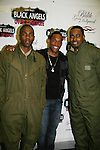 Tobias Truvillion - Lawrence Saint-Victor - Lamman Rucker of the Black Angels Over Tuskegee - The Story of the Tuskegee Airmen in an off Broadway play on March 25, 2010 at St Luke's Theate, NYC which has been extended. (Photos by Sue Coflin/Max Photos)