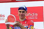 Dutch Champion Fabio Jakobsen (NED) Deceuninck-Quick Step wins Stage 4 of La Vuelta 2019 running 175.5km from Cullera to El Puig, Spain. 27th August 2019.<br /> Picture: Eoin Clarke | Cyclefile<br /> <br /> All photos usage must carry mandatory copyright credit (© Cyclefile | Eoin Clarke)