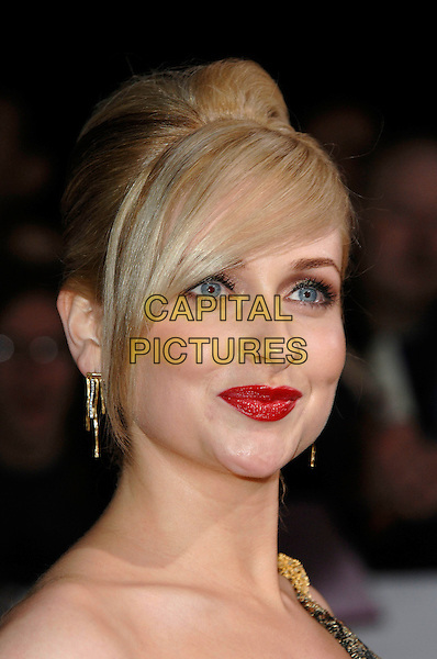 GEMMA MERNA.National Television Awards 2007.Royal Albert Hall.31st October 2007 London, England.portrait headshot.CAP/PL.©Phil Loftus/Capital Pictures