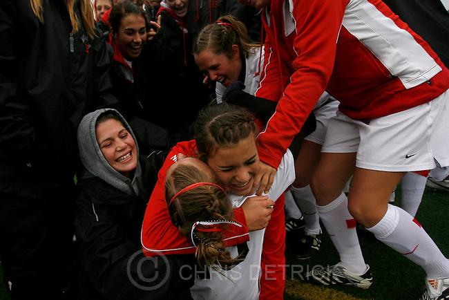 Sandy, UT --10/20/07--.Alta vs Lone Peak in the 5A women's state soccer championships. .Alta won 3-0...Photo by Chris Detrick/The Salt Lake Tribune.frame #_1CD3700