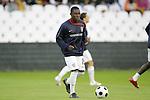 04 June 2008: Freddy Adu (USA). The Spain Men's National Team defeated the United States Men's National Team 1-0 at Estadio Municipal El Sardinero in Santander, Spain in an international friendly soccer match.