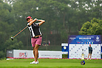 Chief Peng of Chinese Taipei tees off on the 1st hole during the Round 1 of the Faldo Series Asia Grand Final at Mission Hills on March 2, 2011 in Shenzhen, China. Photo by Raf Sanchez / Faldo Series