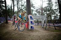 Ellen Van Loy (BEL/Telenet-Fidea) &amp; Sanne Cant (BEL/BKCP-Powerplus)<br /> <br /> Elite Women's Race<br /> Krawatencross<br /> bpost bank trofee