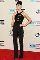 LOS ANGELES, CA - NOVEMBER 24: Jaimie Alexander arriving at the 2013 American Music Awards held at Nokia Theatre L.A. Live on November 24, 2013 in Los Angeles, California. (Photo by Celebrity Monitor)