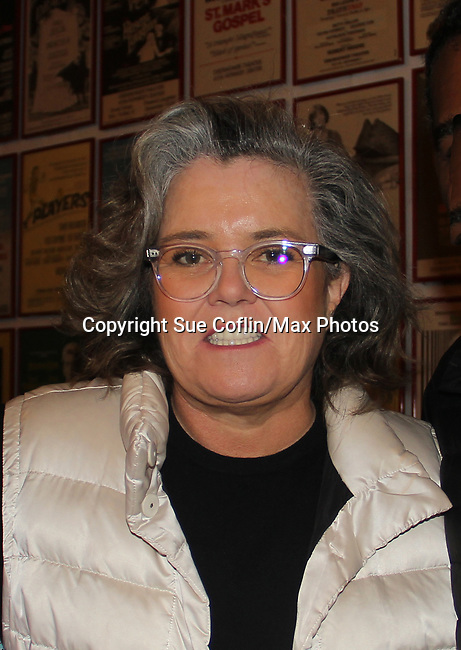 All My Children's Rosie O'Donnell stars as Mrs. Paroo in the musical The Music Man at the Eisenhower Theater at the  John F. Kennedy Center for the Performing Arts, Washington D.C. in a sold out run and photos were taken on February 10, 2019 in the green room.  (Photo by Sue Coflin/Max Photo)
