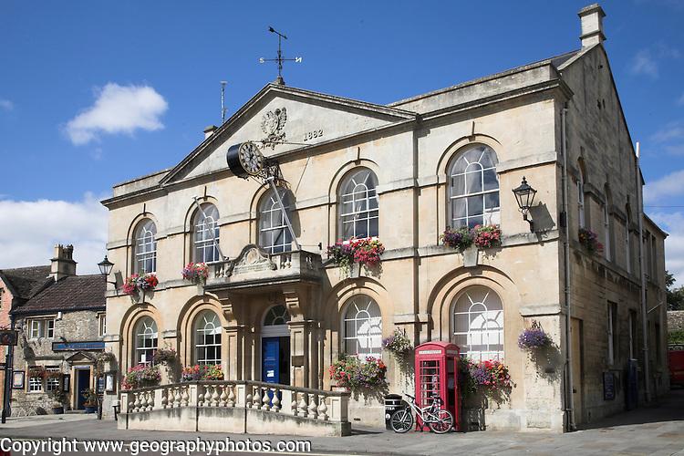 Town hall, Corsham, Wiltshire, England