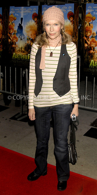 WWW.ACEPIXS.COM . . . . . ....January 7, 2007, New York City. ....Mia Farrow attends the Premiere of the movie 'Arthur and the Invisibles' at the Directors Guild of America. ....Please byline: KRISTIN CALLAHAN - ACEPIXS.COM.. . . . . . ..Ace Pictures, Inc:  ..(212) 243-8787 or (646) 769 0430..e-mail: info@acepixs.com..web: http://www.acepixs.com