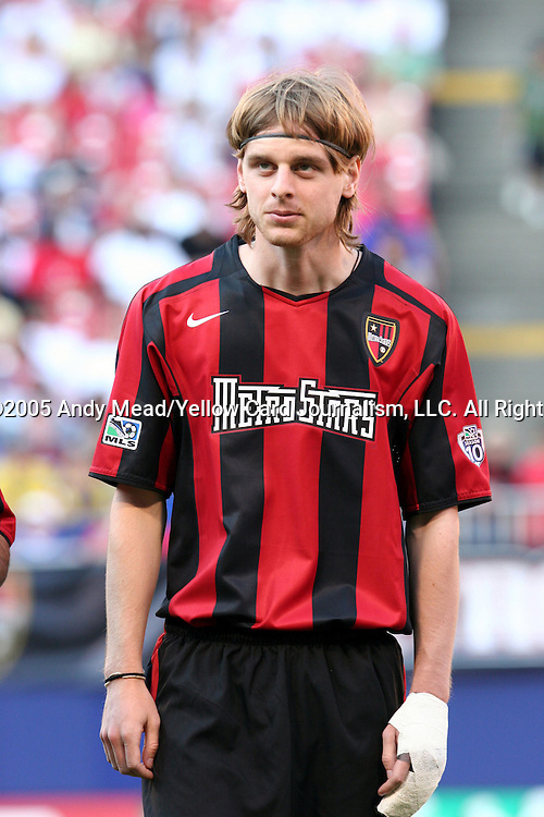 31 May 2004: Eddie Gaven. The MetroStars defeated the Chicago Fire 2-1 at Giants Stadium in East Rutherford, NJ during a regular season Major League Soccer game..