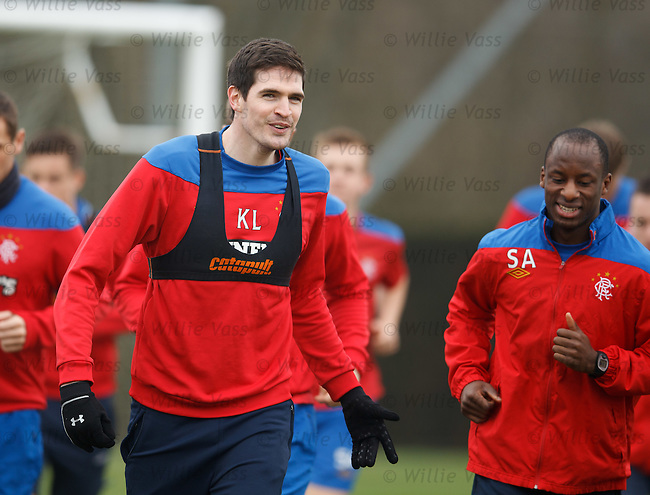 Kyle Lafferty and Sone Aluko