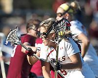 Boston College Women's LAX vs. Harvard University, April 17, 2013