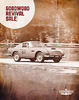 BNPS.co.uk (01202 558833)<br /> Pic: Bonhams/BNPS<br /> <br /> Cover girl - the stunning and historic motor is on the cover of the Goodwood Revival sale catalogue.<br /> <br /> Speed King's beautiful old Aston Martin DB4 GT for sale...<br /> <br /> The rare Aston Martin car first owned by tragic speed record breaker Donald Campbell has emerged for sale for almost £3m.<br /> <br /> The 1961 Aston Martin DB4GT was one of just 75 to be built by the iconic British marque.<br /> <br /> It was previously owned by British adrenaline junkie Campbell, who is best known for his eight speed records on land and water before his death.<br /> <br /> He remains the the most prolific water speed record breaker of all-time and is still the only man ever to set both records in the same year in 1964.<br /> <br /> Campbell died during a final water speed record attempt on Coniston Water in the Lake District in 1967 and his body was not recovered until 2001.