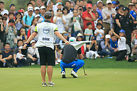 Alexander Bj&ouml;rk (SWE) during the final round of the Volvo China Open played at Topwin Golf and Country Club, Huairou, Beijing, China 26-29 April 2018.<br /> 29/04/2018.<br /> Picture: Golffile | Phil Inglis<br /> <br /> <br /> All photo usage must carry mandatory copyright credit (&copy; Golffile | Phil Inglis)