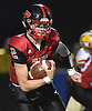 Daniel Villari #2 of Plainedge runs the ball on a keep during the Class III Long Island Championship against Half Hollow Hills West at Shuart Stadium in Hempstead on Saturday, Nov. 24, 2018.
