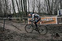 Dieter Vanthourenhout (BEL/Marlux-Napoleon Games)<br /> <br /> Elite Men's Race<br /> CX Vlaamse Druivencross Overijse 2017