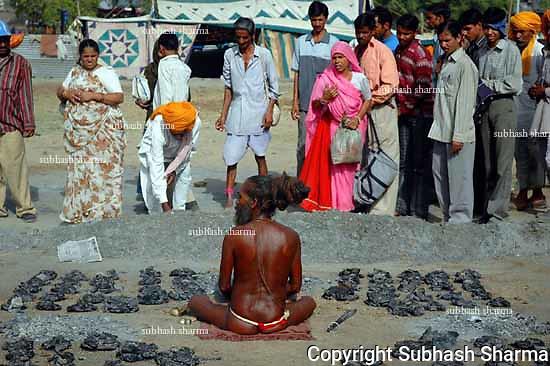 Naga Sadhus at the Kumbh Mela