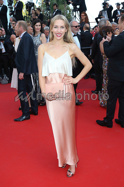 """24 May 2017 - Cannes, France - Julia Dietze . """"The Beguiled"""" Premiere during the 70th Cannes Film Festival. Photo Credit: GeorgWenzel/face to face/AdMedia"""
