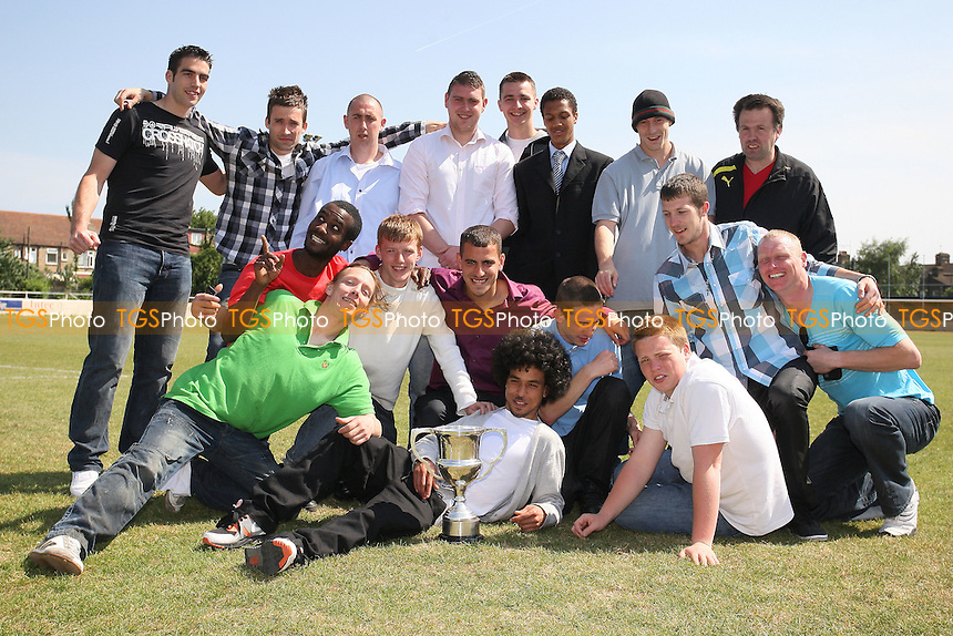 Homerton Rangers 'B' - East London Sunday League Dick Coppock Cup Final Winners at Wadham Lodge - 01/05/11 - MANDATORY CREDIT: Gavin Ellis/TGSPHOTO - Self billing applies where appropriate - Tel: 0845 094 6026
