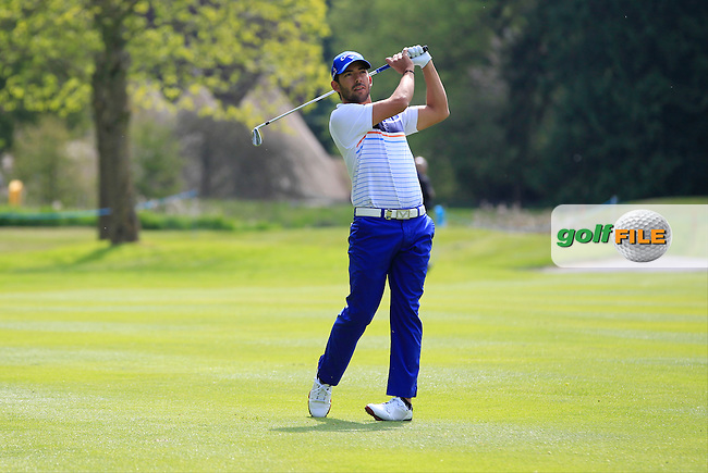 Pablo Larrazabal (ESP) on the 17th fairway during Tuesday's Practice round of the Dubai Duty Free Irish Open Trophy at The K Club, Straffan, Co. Kildare<br /> Picture: Golffile | Thos Caffrey<br /> <br /> All photo usage must carry mandatory copyright credit <br /> (&copy; Golffile | Thos Caffrey)