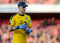 Burnley's Joe Hart can't hide his frustration at the final whistle<br /> <br /> Photographer David Shipman/CameraSport<br /> <br /> The Premier League - Arsenal v Burnley - Saturday 22nd December 2018 - The Emirates - London<br /> <br /> World Copyright © 2018 CameraSport. All rights reserved. 43 Linden Ave. Countesthorpe. Leicester. England. LE8 5PG - Tel: +44 (0) 116 277 4147 - admin@camerasport.com - www.camerasport.com