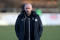 Hashtag United manager Jay Devereux during Walthamstow vs Hashtag United, Essex Senior League Football at Wadham Lodge Sports Ground on 30th November 2019