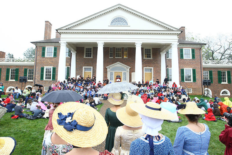 "Mrs. Lynne Cheney, the wife of former Vice President Dick Cheney, and author of several books, including ""We the People: The Story of Our Constitution,"" spoke at James Madison's Montpelier Estate celebrating Constitution Day Sept. 17, 2009 in Orange VA. Photo/Andrew Shurtleff"