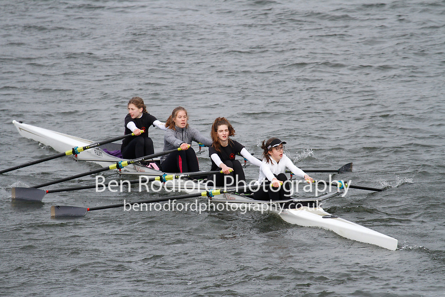 Crew: 281  Lady Margaret Sch  Event: Girls J16 Quads<br /> <br /> Schools' Head of the River 2017<br /> <br /> To purchase this photo, or to see pricing information for Prints and Downloads, click the blue 'Add to Cart' button at the top-right of the page.