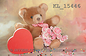 Interlitho, Alberto, CUTE ANIMALS, teddies, photos, teddy, heart, roses(KL15446,#AC#)