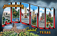 Iconic Art Murals in Austin - Famous Austin Street Art Stock Photo Image Gallery
