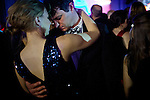 Emily Mellencamp Smith, and Garrick Delzell, New Hampshire congressional campaign staffers, dance to Brad Paisley at the Inaugural Ball, January 21, 2013 in Washington, D.C.
