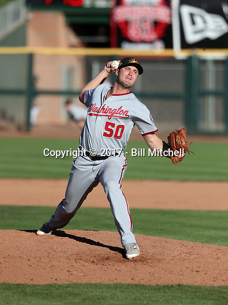 Dakota Bacus - Mesa Solar Sox - 2017 Arizona Fall League (Bill Mitchell)