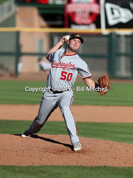 Dakota Bacus - Mesa Solar Sox - 2017 Arizona Fall League (Bill Mitchell)